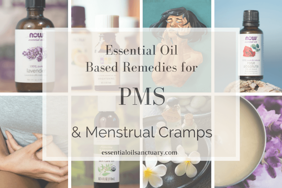 DIY Essential Oil Based Remedies for PMS & Menstrual Cramps