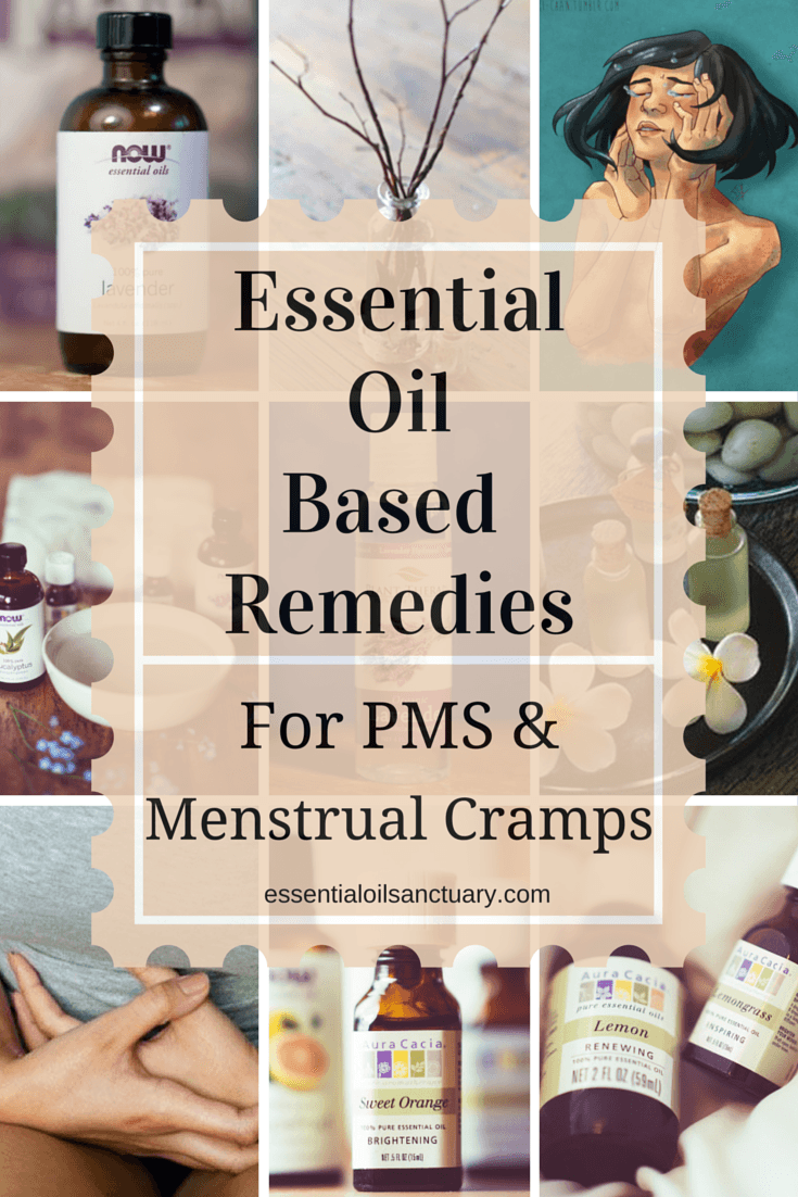 DIY Essential Oil Based Treatments for PMS & Menstrual Cramps