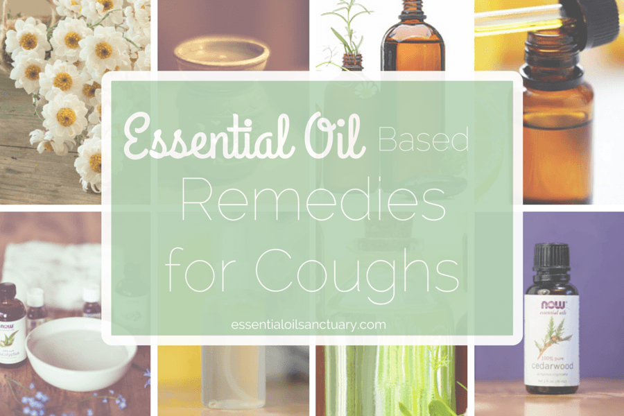 DIY Essential oil based remedies for coughs