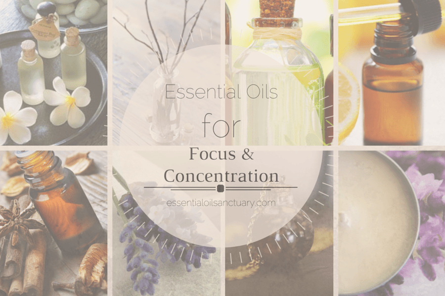 DIY Essential Oils / Aromatherapy for focus and concentration