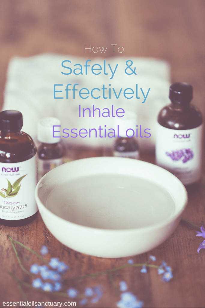 Learn how to safely and effectively inhale essential oils