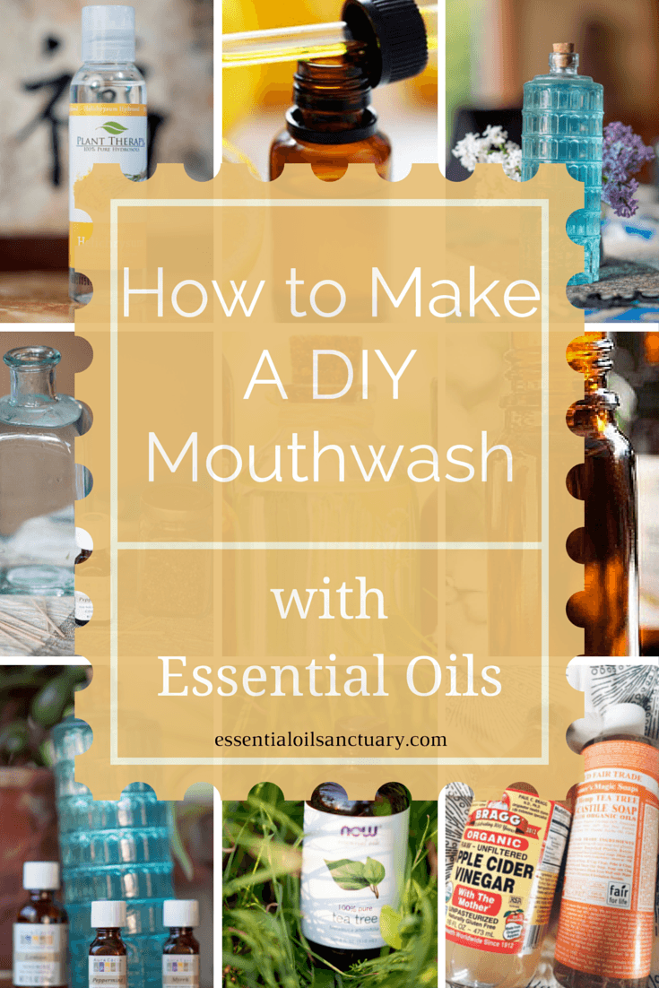 oil mouthwash diy how to pinterest