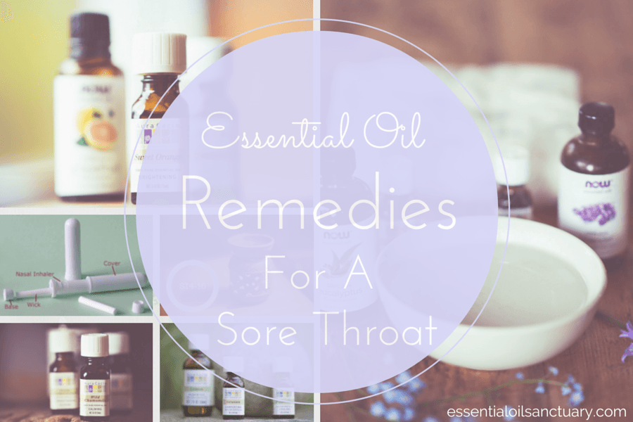 oil remedies cure sore throat diy pinterest