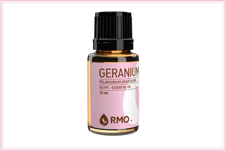 geranium oil for fever blisters