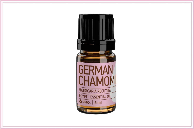 german chamomile for sunburns
