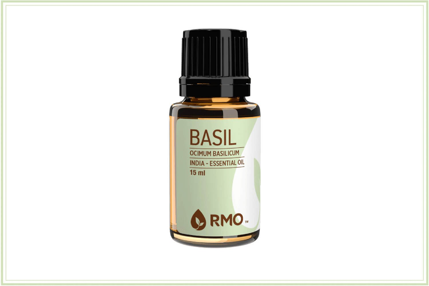 basil essential oil for nausea upset stomach