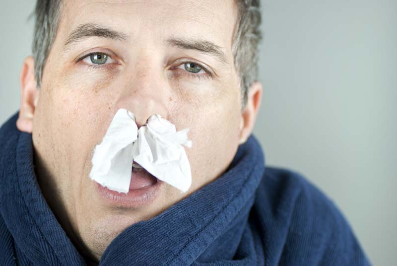 essential oils for sinus infection