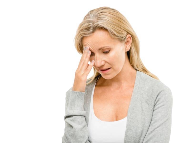 headache upset