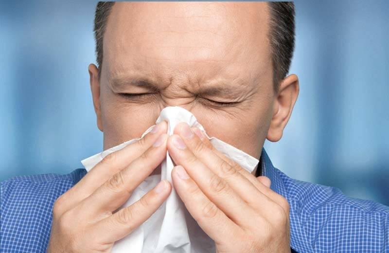sinus sneeze cough sick