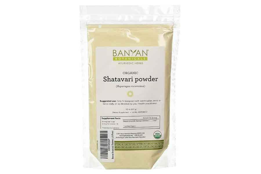 banyan botanicals organic shatavari powder
