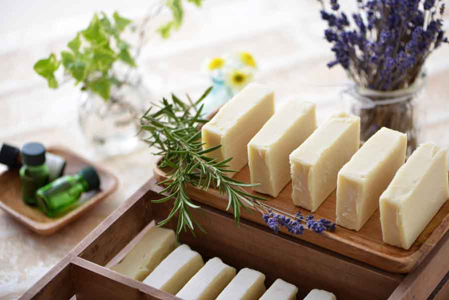 natural soap rosemary lavender