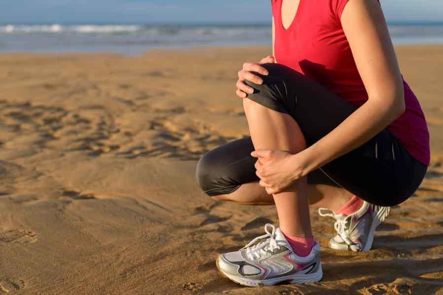 sore muscle in leg running