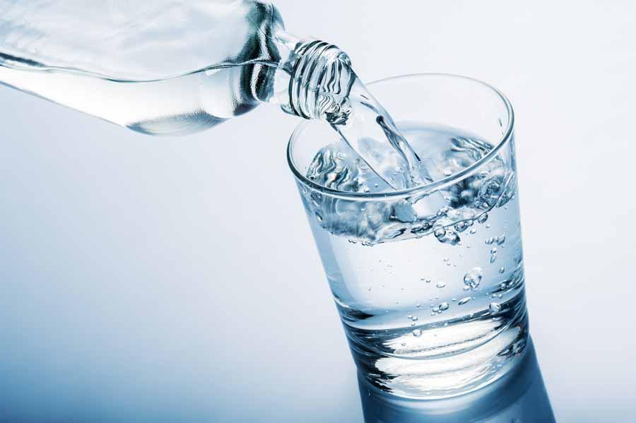 water glass fresh water